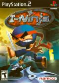 I-Ninja PlayStation 2 Front Cover