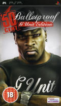 50 Cent Bulletproof: G Unit Edition PSP Front Cover
