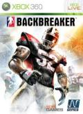 Backbreaker Xbox 360 Front Cover