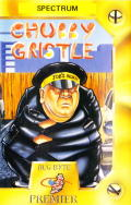 Chubby Gristle ZX Spectrum Front Cover