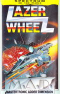 Lazer Wheel ZX Spectrum Front Cover