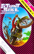 Stunt Bike Simulator ZX Spectrum Front Cover