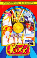 The Games: Winter Edition ZX Spectrum Front Cover