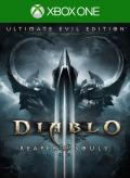 Diablo III: Reaper of Souls - Ultimate Evil Edition Xbox One Front Cover 1st version