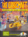 The Inheritance: Panic in Las Vegas Commodore 64 Front Cover