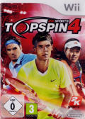 Top Spin 4 Wii Front Cover