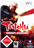 Tenchu: Shadow Assassins Wii Front Cover