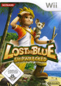 Lost in Blue: Shipwrecked Wii Front Cover
