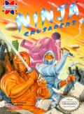Ninja Crusaders NES Front Cover