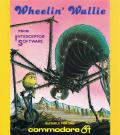 Wheelin' Wallie Commodore 64 Front Cover