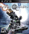 Vanquish PlayStation 3 Front Cover