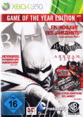 Batman: Arkham City - Game of the Year Edition Xbox 360 Front Cover