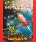 Defender 64 Commodore 64 Front Cover