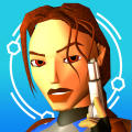 Tomb Raider II Gold iPad Front Cover