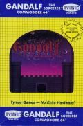 Gandalf the Sorcerer Commodore 64 Front Cover