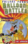 Phileas Fogg's Balloon Battles Commodore 64 Front Cover