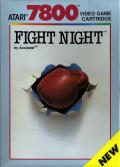 Fight Night Atari 7800 Front Cover