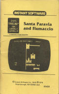 Santa Paravia and Fiumaccio TRS-80 Front Cover