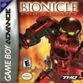 BIONICLE: Maze of Shadows Game Boy Advance Front Cover