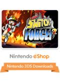 Mighty Switch Force! 2 Nintendo 3DS Front Cover