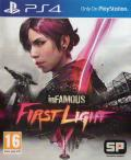 inFAMOUS: First Light PlayStation 4 Front Cover