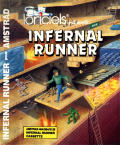 Infernal Runner Amstrad CPC Front Cover