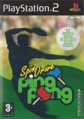 SpinDrive Ping Pong PlayStation 2 Front Cover