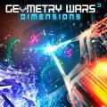 Geometry Wars 3: Dimensions - Evolved PlayStation 3 Front Cover first version