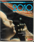 2010: The Text Adventure Game Coleco Adam Front Cover