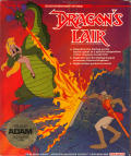 Dragon's Lair Coleco Adam Front Cover