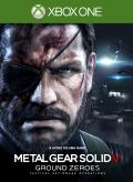Metal Gear Solid V: Ground Zeroes Xbox One Front Cover 1st version