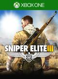 Sniper Elite III: Afrika Xbox One Front Cover 1st version
