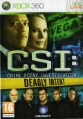 CSI: Crime Scene Investigation - Deadly Intent Xbox 360 Front Cover