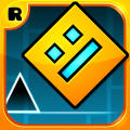 Geometry Dash iPad Front Cover