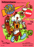 Diner Intellivision Front Cover