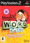 Margot's Word Brain PlayStation 2 Front Cover