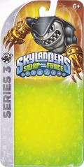 Skylanders: Swap Force - Knockout Terrafin (Series 3) Nintendo 3DS Front Cover