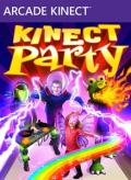 Kinect Party Xbox 360 Front Cover