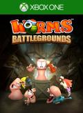 Worms: Battlegrounds Xbox One Front Cover 1st version