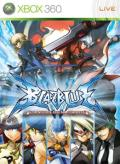 BlazBlue: Continuum Shift Xbox 360 Front Cover