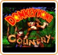 Donkey Kong Country New Nintendo 3DS Front Cover