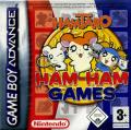 Hamtaro: Ham-Ham Games Game Boy Advance Front Cover