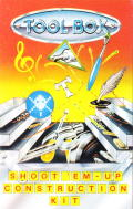 Shoot 'em up Construction Kit  Commodore 64 Front Cover