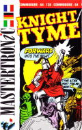 Knight Tyme Commodore 64 Front Cover