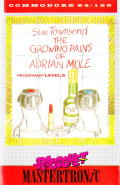 The Growing Pains of Adrian Mole Commodore 64 Front Cover