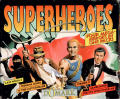 Superheroes Commodore 64 Front Cover