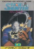 Stick Hunter: Exciting Ice Hockey NES Front Cover