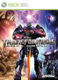 Transformers: Rise of the Dark Spark Xbox 360 Front Cover