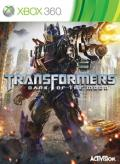 Transformers: Dark of the Moon Xbox 360 Front Cover