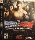 WWE Smackdown vs. Raw 2010 PlayStation 3 Front Cover